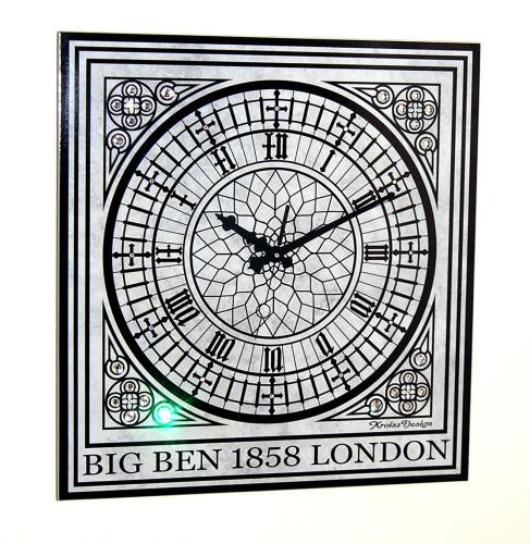 historische antike gro e funk wanduhr big ben london. Black Bedroom Furniture Sets. Home Design Ideas